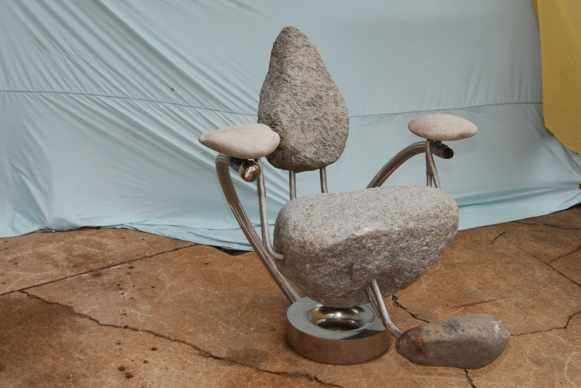 Joel Gittrich   Stone Thrones Of Ptown   ArtPrize Entry Profile   A  Radically Open Art Contest, Grand Rapids Michigan